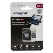 Integral Memory Micro SD Class 10, UHS-1 U3 MicroSDXC, INMSDX128G-100/90V30
