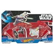 Hot Wheels Star Wars Starships Rebels Ghost vs. TIE Fighter 2-Pack