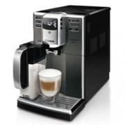 Автоматична еспресо машина Philips HD8922/09, 1850W, 15 bar налягане, титанова неръждаема стомана, 5-степенна регулируема мелачка, черна