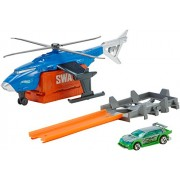Hot Wheels SWAT Helicopter Vehicle