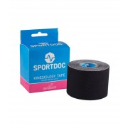 SportDoc Kinesiology Tape Black