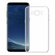 Funda Para Samsung G955 Galaxy S8 Plus Silicon TPU - Transparente