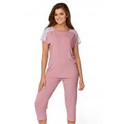 Ana női pizsama rózsaszín S