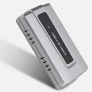 Tosuny Tarjeta de Captura de Juegos, HDMI USB 3.0 Grabadora de Tarjeta de Captura de Video de Juegos HDMI 1080P Ultra Baja latencia para WiiU/Xbox / 360 / Xbox One / PS4 / Cámara HDMI
