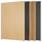 木目調ローパーテーション H1800×W1200mm パーティション 間仕切り ダークグレー パーテーション 木目調 オフィス家具