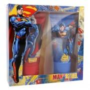 DC Comics Superman 150ml Unisex - Duschgel 150 ml + Shampoo 150 ml