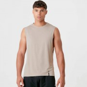 Myprotein Drop Tank Luxe Classic - XS - Taupe