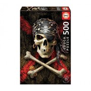 Puzzle Pirate Skull, 500 piese