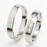Ocelové snubní prsteny TBR07BR13