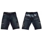 Sirocco jeansshorts blå/vit från WAX (28)