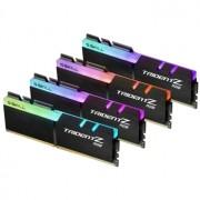 Memorie G.Skill Trident Z RGB 32GB (4x8GB) DDR4 3200MHz 1.35V CL14 Dual Channel Quad Kit, F4-3200C14Q-32GTZR