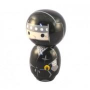 Japonská panenka Kokeshi Ninja Black 12 cm