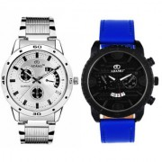 Adamo Designer Analog Men Combo Wrist Watch 109203NB02
