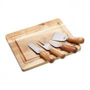 Set servire branzeturi 5 piese KitchenCraft, ARTCB5PC