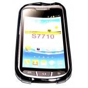 Силиконов гръб ТПУ за Samsung S7710 Galaxy Xcover 2 Черен