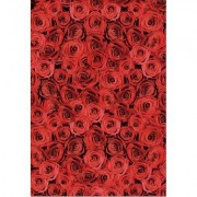 Educa Red Roses 500 Piece Impossible Jigsaw Puzzle