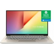 Ultrabook Asus VivoBook S13 Intel Core Kaby Lake R (8th Gen) i7-8550U 512GB 16GB Win10 FullHD Auriu