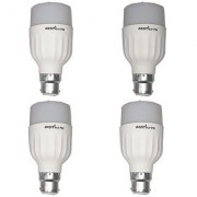 LED Bulb (Pack of 4) Orbit 7 Watt White Bullet Series LED Bulb B22 Cap