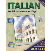 Italian in 10 Minutes a Day(r): Language Course for Beginning and Advanced Study. Includes Workbook, Flash Cards, Sticky Labels, Menu Guide, Software,, Paperback/Kristine K. Kershul