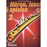 De Haske Hören,Lesen&Spielen Bd. 2 für Querflöte Lehrbuch