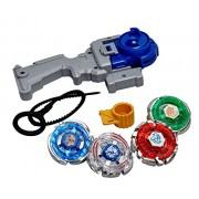 Skky bell 4D AND 5D System Battle bay Blade Metal Fighter Fury (Multicolor) 5 blades super set