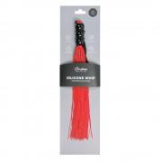 Easytoys Whip - szilikon minikorbács (piros)