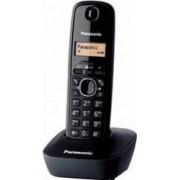 Telefon DECT fara fir Panasonic KX-TG1611HGH negru