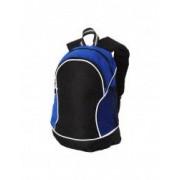 Rucsac cu curele ajustabile si captusite buzunare multiple Everestus BG poliester albastru sac si eticheta incluse