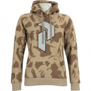 Peak Performance Women Art Hoody multi camo pattern
