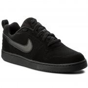 Обувки NIKE - Court Borough Low 838937 001 Black/Black/Black
