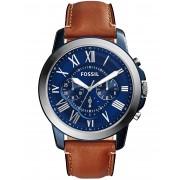 メンズ FOSSIL GRANT 腕時計 ブルー