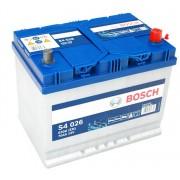 Bosch S4 12V 70Ah 630A Jobb+ ázsiai autó akkumulátor