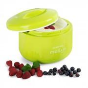 Klarstein me & yo, уред за приготвяне на йогурт, 1 литър, без BPA, ябълково зелена (TK25-YOMMY)