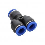 Złączka wtykowa rozdzielacz 12x12x12mm trójnik typ Y - 12 mm