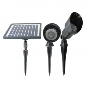 Solar spot Heads complete set met twee spots en los solarpaneel