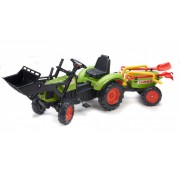 Falk Traktor Claas sa Prikolicom Kolicima (1041rm)
