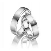 Snubní prsteny ze stříbra SI-02