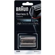 Braun Casete recambio (Negro serie 5 52b) maquinilla de afeitar 81384829