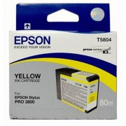 Epson T5804 Yellow 80ml till Pro 3800, Pro 3880
