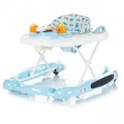 Бебешка проходилка 3в1 Chipolino Лили, синя, 3500213
