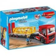 Комплект Плеймобил 5467 - Тежкотоварен камион с платформа, Playmobil, 290954