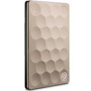 Seagate Backup Plus Ultra Slim STEH2000201 - Disco rígido - 2 TB - externa (portátil) - USB 3.0 - ouro