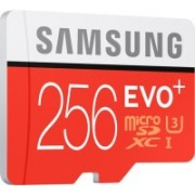 Samsung Evo Plus 256 GB MicroSDXC Class 10 90 MB/s Memory Card(With Adapter)