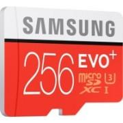 Samsung Evo Plus 256 GB MicroSDXC Class 10 90.0 MB/s Memory Card(With Adapter)