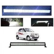 Trigcars Hyundai Santro Xing GLS Bar Light Fog Light 22Inch 120 Watt