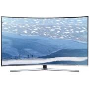 Televizor LED Samsung UE55KU6672, smart, Ultra HD, PQI 1600, 55 inch, DVB-T2/C/S2, argintiu