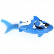 ROBO DE PESCADO Shark Estilo Electronic Toy pescados - azul + blanco (2 * LR44)