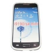 Силиконов гръб ТПУ за Samsung i9190 Galaxy S4 mini Бял