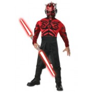 Rubies Costumes Stars Wars Deluxe Muscle Chest Darth Maul Child Costume Large - 12-14