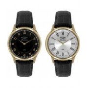 Rotary Mens Revelation Watch with Reversible Dial